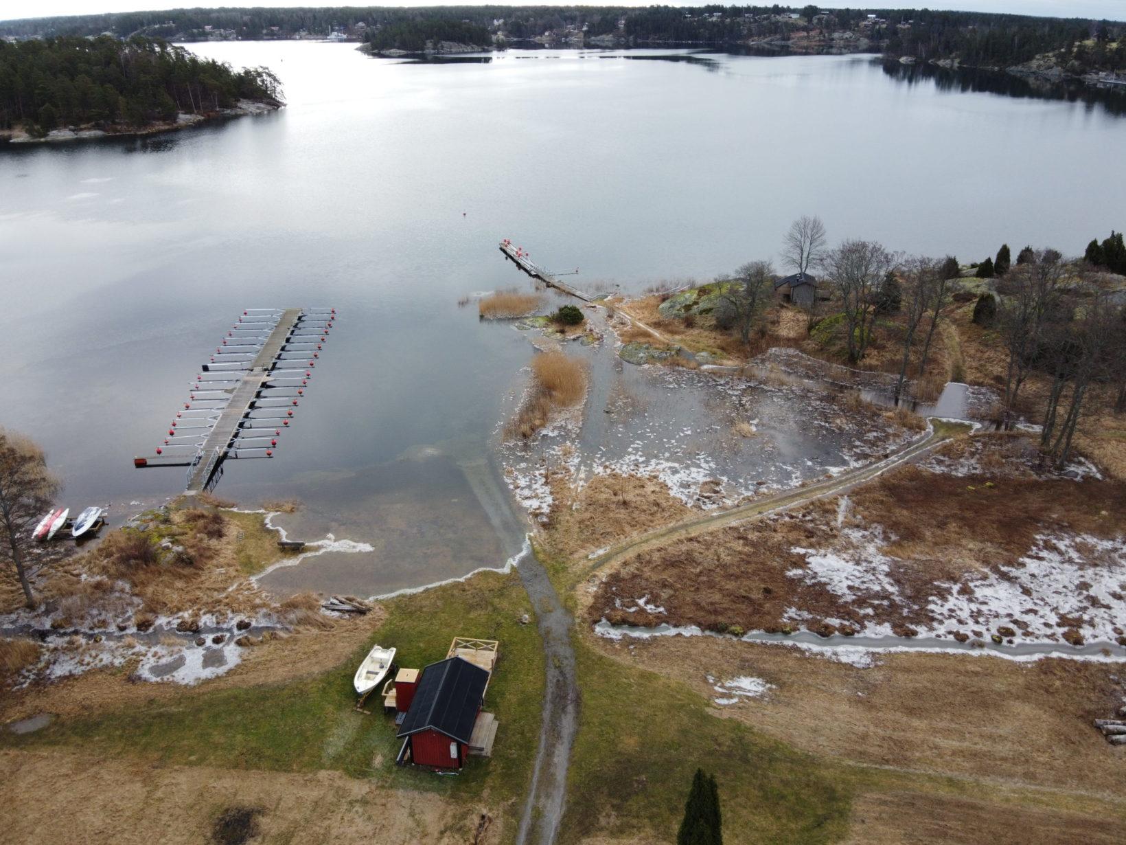 Under förra veckan sattes ett rekord på högt vattenstånd